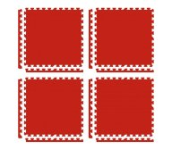 Red 1 Cm Pack of 4 Puzzle Mats | Tip Top Sports Malta | Sports Malta | Fitness Malta | Training Malta | Weightlifting Malta | Wellbeing Malta